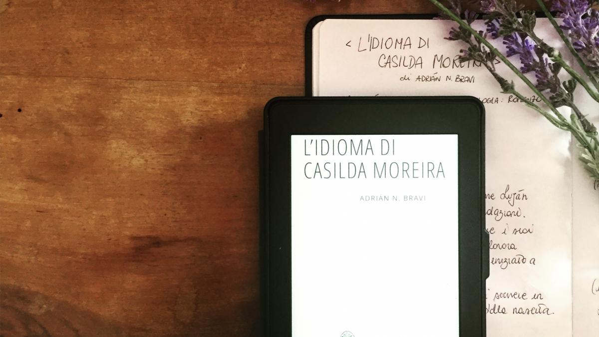 """""""L'idioma di Carsilda Moreria"""" di Adrián N. Bravi  (Exòrma)"""