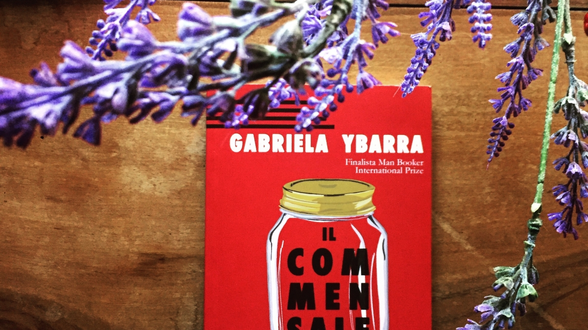 """""""Il commensale"""" di Gabriela Ybarra (Polidoro editore)"""